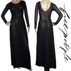 Intimately Free People size small lace maxi dress
